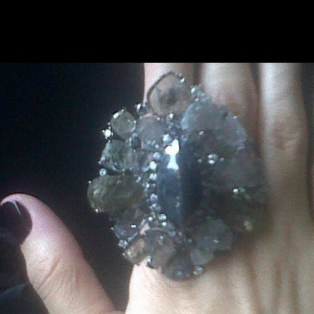 Skin, Chemical compound, Crystal, Natural material, Nail, Quartz, Gemstone, Silver, Mineral, Body jewelry,