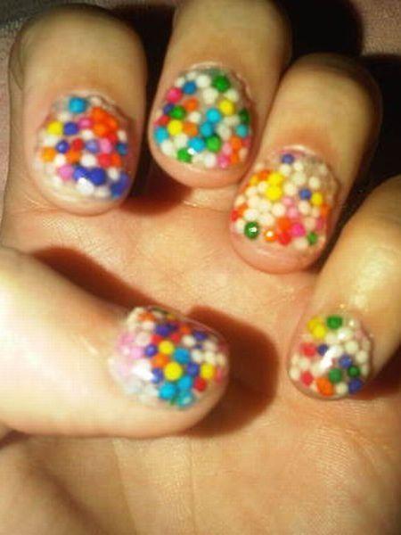 Blue, Finger, Yellow, Nail care, Nail, Nail polish, Toe, Foot, Cosmetics, Close-up,