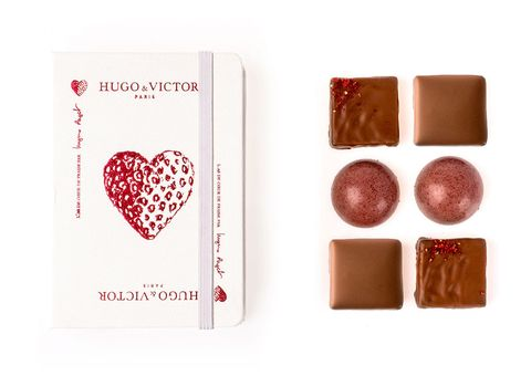 Brown, Red, Chocolate, Confectionery, Carmine, Heart, Dessert, Rectangle, Snack, Giri choco,