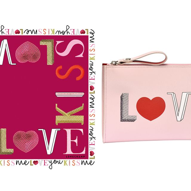 Text, Pink, Magenta, Font, Bag, Rectangle, Material property, Shoulder bag, Coquelicot, Label,