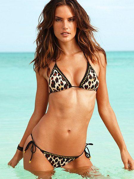 Clothing, Brassiere, Hairstyle, Skin, Swimwear, Bikini, Swimsuit top, Shoulder, Swimsuit bottom, Chest,