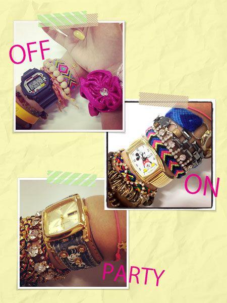Brown, Fashion accessory, Purple, Wrist, Fashion, Magenta, Pattern, Beige, Design, Natural material,
