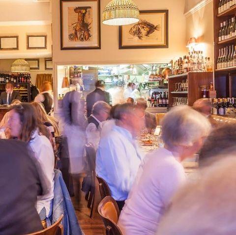 Crowd, Restaurant, Fun, Event, Pub, Bar, Building, City,