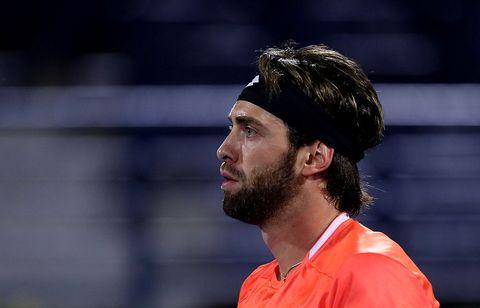 Hair, Facial hair, Beard, Player, Tennis, Competition event, Championship,
