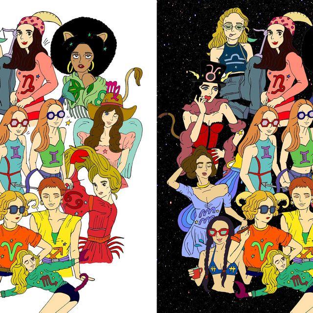 People, Art, Illustration, Graphics, Animation, Painting, Animated cartoon, Drawing,