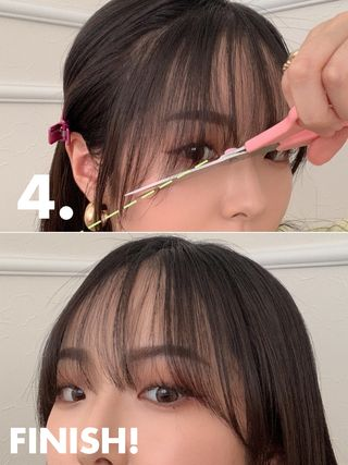 に ストレート 方法 を 前髪 する
