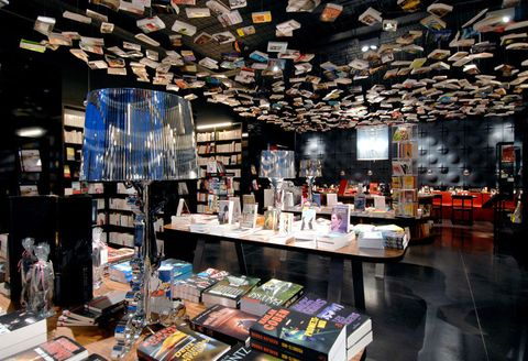 Building, Bookselling, Retail, Interior design, Collection,