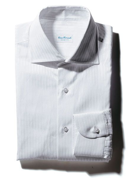 Product, Blue, Collar, Sleeve, Textile, White, Dress shirt, Light, Pattern, Fashion,