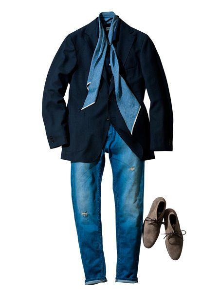 Blue, Brown, Sleeve, Collar, Textile, Outerwear, Coat, Style, Jacket, Denim,