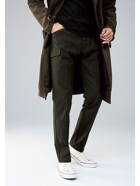 Leg, Sleeve, Trousers, Shoulder, Textile, Pocket, Standing, Shoe, Collar, Bag,