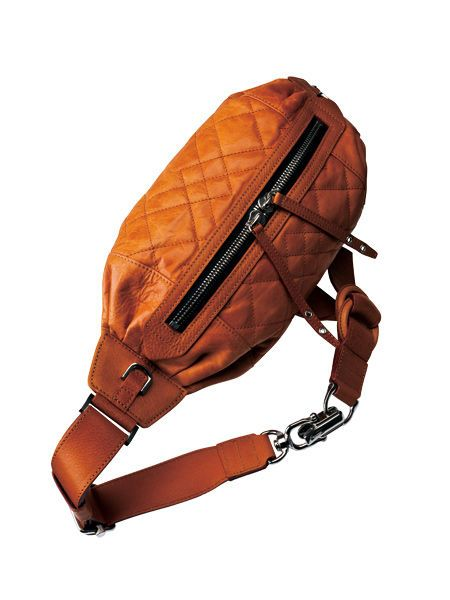 Brown, Bag, Orange, Amber, Personal protective equipment, Tan, Maroon, Leather, Luggage and bags, Strap,