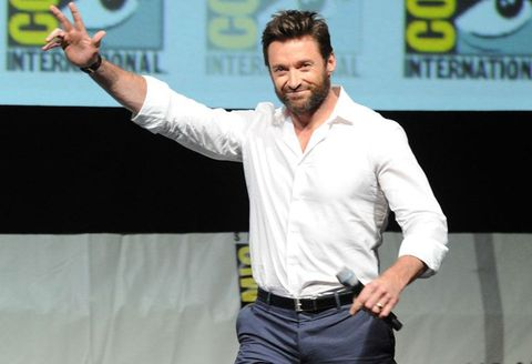 Arm, Facial hair, Gesture, Beard, Fictional character, White-collar worker,