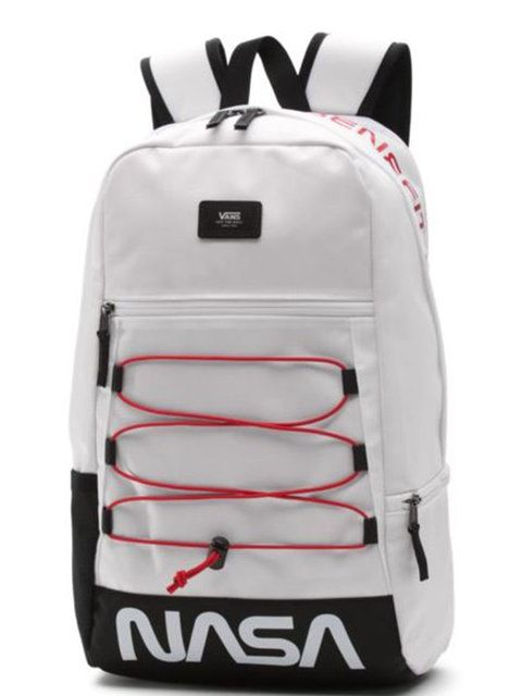 Bag, White, Backpack, Luggage and bags, Baggage, Personal protective equipment,