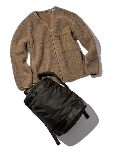 Clothing, Jacket, Outerwear, Khaki, Sleeve, Brown, Beige, Trousers,