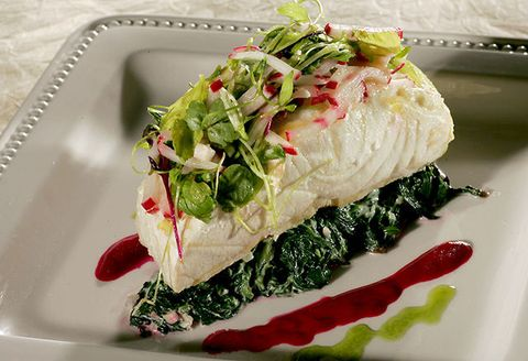 Food, Ingredient, Cuisine, Dishware, Dish, Garnish, Recipe, Leaf vegetable, Serveware, Plate,
