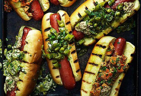 Food, Dish, Cuisine, Fast food, Ingredient, Produce, Comfort food, Staple food, Vegetarian food, Hot dog,