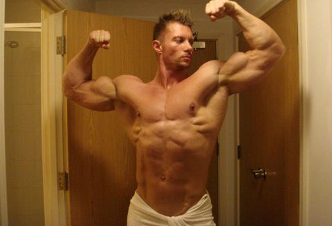 Barechested, Muscle, Bodybuilder, Bodybuilding, Arm, Chest, Shoulder, Abdomen, Standing, Joint,