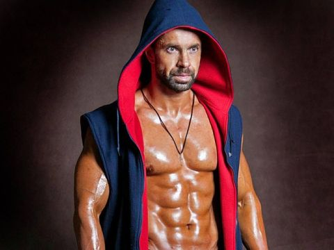 Muscle, Bodybuilder, Shoulder, Bodybuilding, Abdomen, Physical fitness, Human, Chest, Joint, Facial hair,