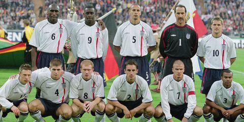 イングランドサッカー「黄金世代...