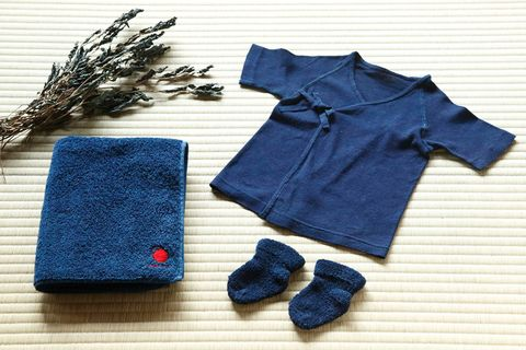 Blue, Product, Textile, Pattern, Baby & toddler clothing, Electric blue, Cobalt blue, Woolen, Wool, Sweater,