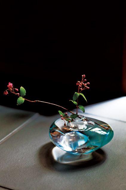 Still life photography, Green, Ikebana, Glass, Still life, Flower, Plant, Photography, Miniature, Table,