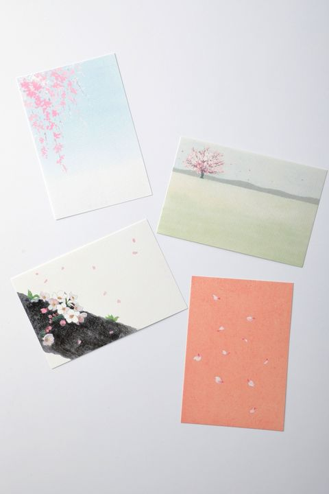 Pink, Paper, Envelope, Design, Paper product, Material property, Stationery, Art paper,