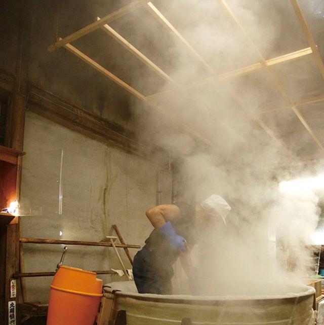 Smoke, Gas, Blue-collar worker, Service, Workwear, Industry, Factory, Steel,