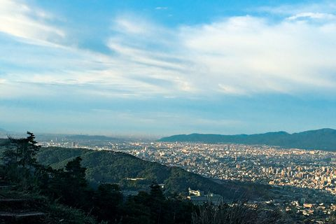 Mountainous landforms, Hill, Hill station, Residential area, Suburb, Chaparral, Bird's-eye view,