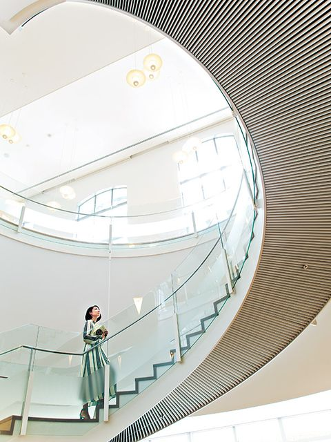Parallel, Stairs, Circle, Engineering, Handrail,