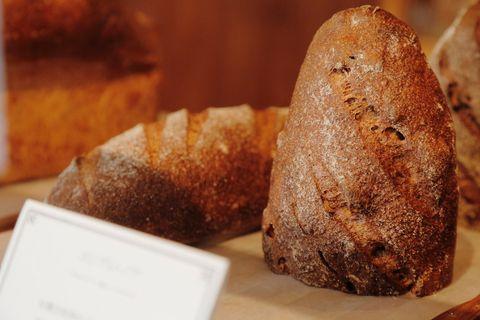 Bread, Brown, Food, Baked goods, Cuisine, Dish, Loaf, Snack, Gluten, Rye bread,