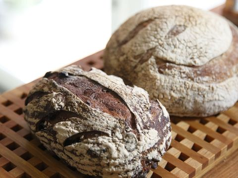Food, Bread, Baked goods, Ingredient, Gluten, Rye bread, Snack, Dessert, Baking, Beige,