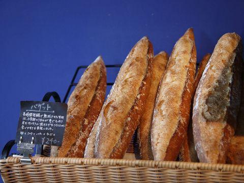 Brown, Food, Baguette, Bread, Baked goods, Tan, Gluten, Snack, Sandwich, Sourdough,