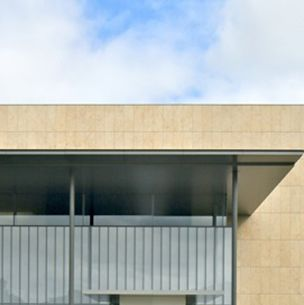 Architecture, Property, Facade, Real estate, Line, Wall, Concrete, Rectangle, Parallel, Composite material,