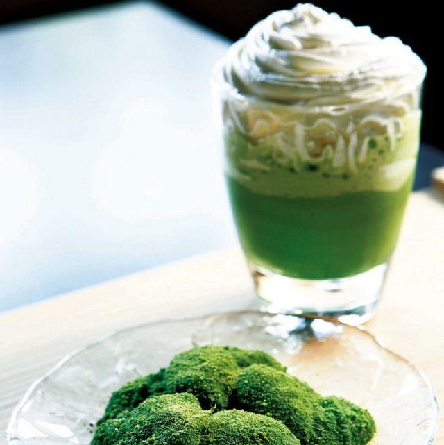 Food, Green, Cuisine, Dish, Ingredient, Dessert, Drink, Frozen dessert, Produce, Cream,