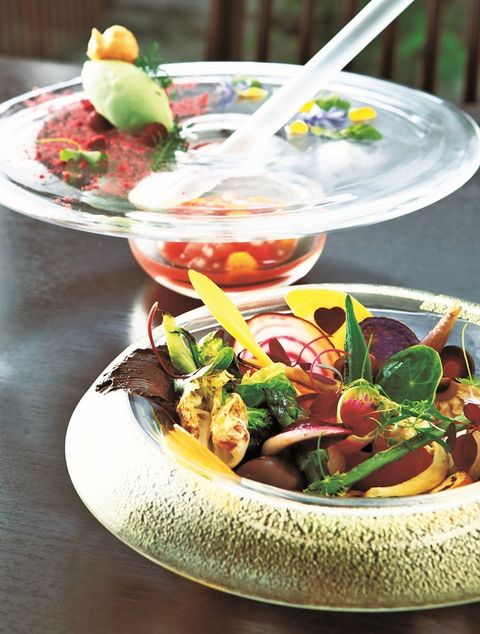 Food, Cuisine, Tableware, Ingredient, Produce, Bowl, Dishware, Leaf vegetable, Salad, Dish,