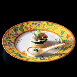 Serveware, Dishware, Porcelain, Food, Tableware, Cuisine, Dish, Garnish, Ceramic, Culinary art,