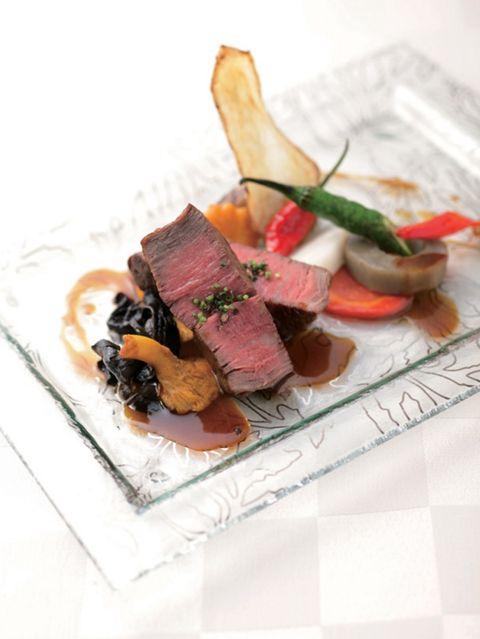Dish, Food, Cuisine, Ingredient, À la carte food, Recipe, Meat, Tataki, Produce, Garnish,