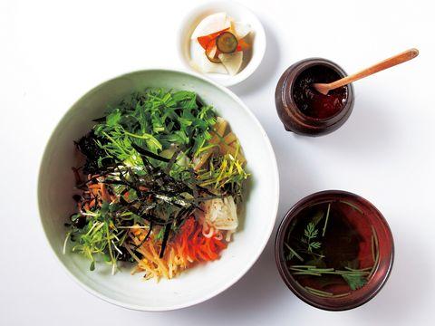 Cuisine, Food, Ingredient, Produce, Bowl, Dish, Leaf vegetable, Lunch, Dishware, Meal,