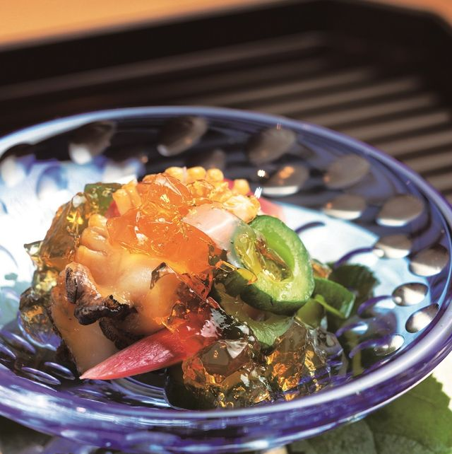 Dish, Food, Cuisine, Ingredient, Vegetarian food, Produce, Recipe, Comfort food, Hiyayakko, Wakame,