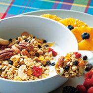 Food, Cuisine, Produce, Ingredient, Tableware, Dishware, Meal, Breakfast, Breakfast cereal, Fruit,