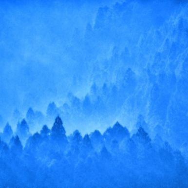 Blue, Sky, Atmospheric phenomenon, Cloud, Atmosphere, Azure, Electric blue, Landscape, Space, Mountain,