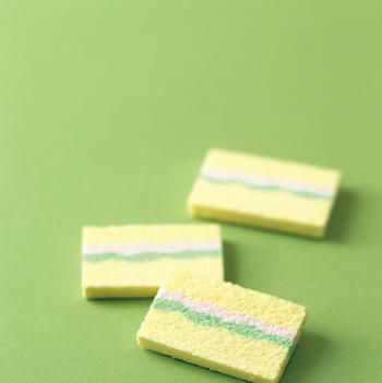 Green, Rectangle, Paper product, Household supply,