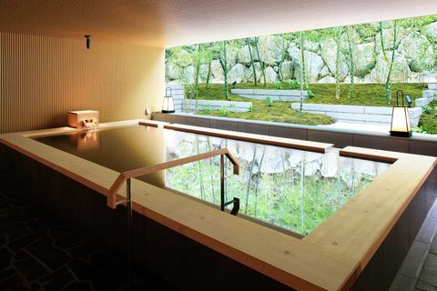 Property, Interior design, Wood stain, Hardwood, Shade, Design, Plywood, Interior design, Bathtub, Transparent material,