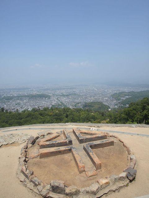 Circle, Historic site, Sand, Aerial photography, Environmental art,