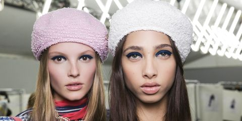 Beanie, Face, Clothing, Knit cap, Lip, Eyebrow, Head, Beauty, Fashion, Headgear,