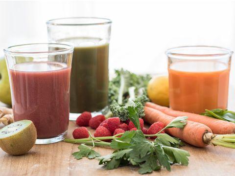 Food, Natural foods, Juice, Drink, Health shake, Ingredient, Vegetable juice, Smoothie, Superfood, Vegetable,