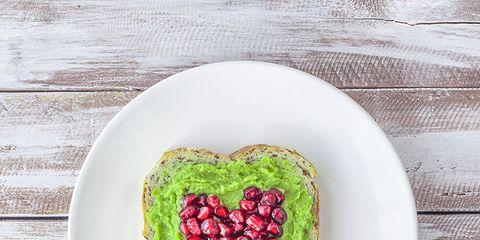 Food, Green, Dish, Cuisine, Heart, Superfood, Berry, Plate, Sweetness, Vegetarian food,