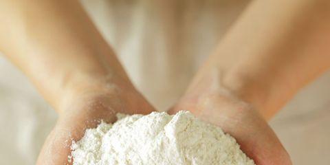 Food, Wheat flour, All-purpose flour, Hand, Flour, Cuisine, Ingredient, Dough, Dish, Whole-wheat flour,
