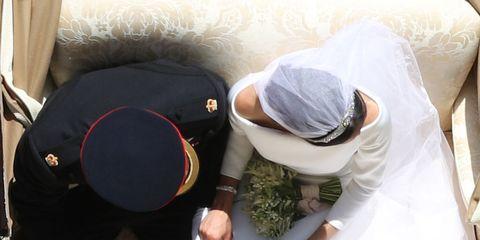 Photograph, Bride, Ceremony, Wedding, Veil, Wedding dress, Dress, Tradition, Bridal clothing, Marriage,