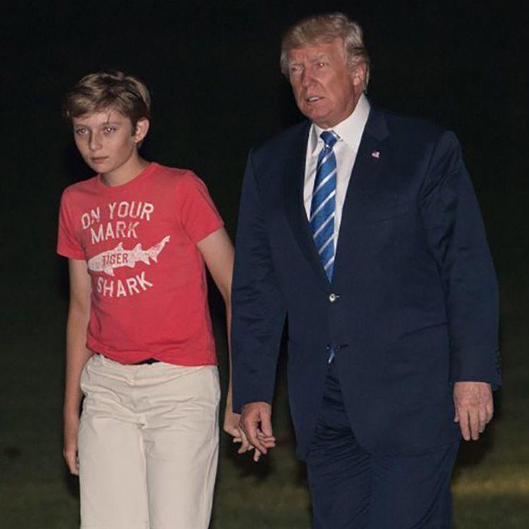 まだ11歳の子供よ! チェルシー・クリントン、再びバロン・トランプを ...